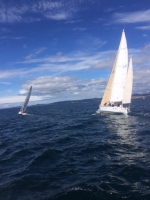 Longboard and Atalanta Match Racing towards Race Passage
